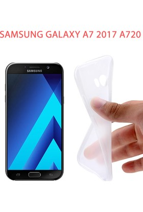 Akıllıphone Sm Galaxy A7 2017 A720 Ultra Slim Spada Soft Silikon Kılıf