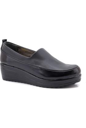 Modalisa Platform Siyah Dolgu Taban Ayakkabı