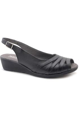 Noke Hakiki Deri Ortopedik Kadın Sandalet