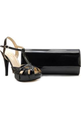 Oc 02545-01 Black High Heel Ayakkabı