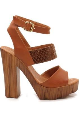Soul Modalisa Taba Plaform Sandalet