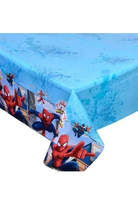 Tahtakale Toptancısı Masa Örtüsü Spiderman Web Warriors Temalı 120 x 180 Cm