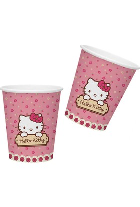 Tahtakale Toptancısı Bardak Hello Kitty 180/200 Cc (8 Adet)