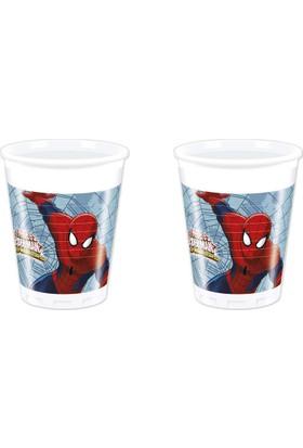 Tahtakale Toptancısı Bardak Spiderman Web Warriors 180/200 Cm (8 Adet)