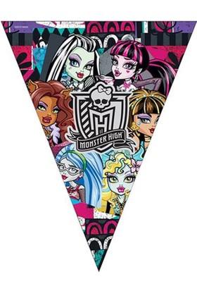 Tahtakale Toptancısı Monster High Klasik Üçgen Bayrak Set