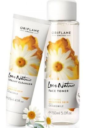 Oriflame Love Nature Papatya Özlü Yüz Temizleyicisi Ve Toniği