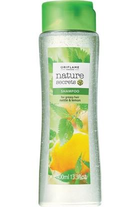 Oriflame Nature Secrets Isırgan Ve Limon Özlü Şampuan(Yağlı Saçlar İçin)