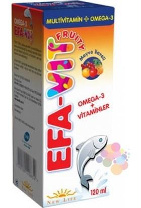 NewLife EFA-VİT Şurup 120 ml (Multivitamin+Omega-3)