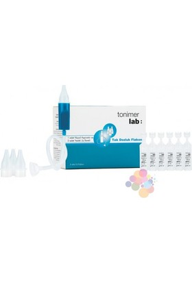 Tonimer Lab Tek Dozluk Flakon 5 ml 10 Flakon - Aspiratör + 3 Adet Yedek Uç Hediye