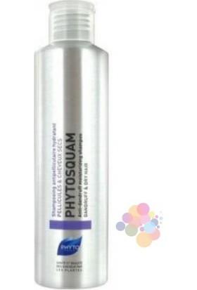 Phyto Phytosquam Anti Dandruff Dry Hair 200 ml. (Kuru Saçlar İçin Kepeğe Karşı Bakım Şampuanı)