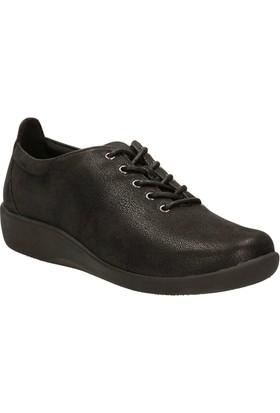 Clarks Sillian Tino Kadın Ayakkabı Siyah