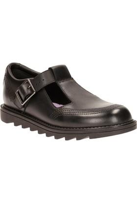 Clarks Penny So Jnr Erkek Çocuk Ayakkabı Siyah