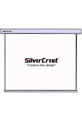 Silvercrest 180X180cm GLASS BEADS(CAM TOZLU) Storlu Projeksiyon Perdesi