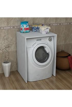 Sanal Mobilya Terni Çamaşır Makinesi Dolabı Alt Modül