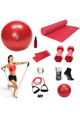 Tristar Pilates Seti Life Style Red