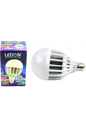 Ledon Led Ampül 18W 220V Beyaz E27 Ld-0218
