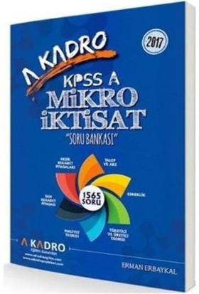A Kadro Kpss A Mikro İktisat Soru Bankası 2017