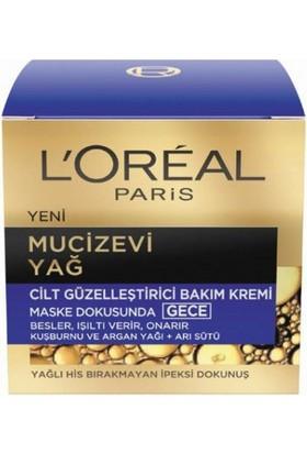 Loreal Paris Mucizevi Yağı Gece Kremi 50 ml