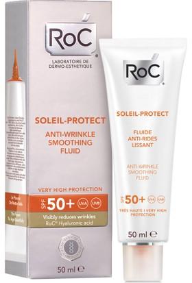 RoC Soleil Protect Kırışık Karşıtı Korumalı Likit Yüz Nemlendiricisi SPF50 50 ml