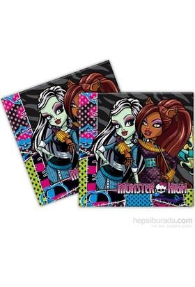 Alins Monster High Partisi Peçete 33X33 Cm 20 Adet