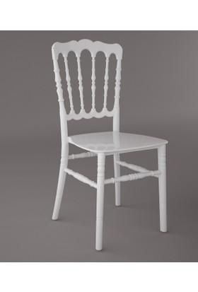 Sandalye Fabrikası Napolyon Sandalye Beyaz