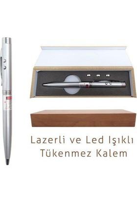 Practika Çok Fonksiyonlu Kalem: Lazerli ve Led Işıklı Tükenmez Kalem