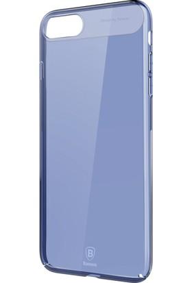 Baseus Apple iPhone 7 Plus Kılıf Baseus Sky Serisi Renkli Sert Rubber + Cam Ekran Koruyucu
