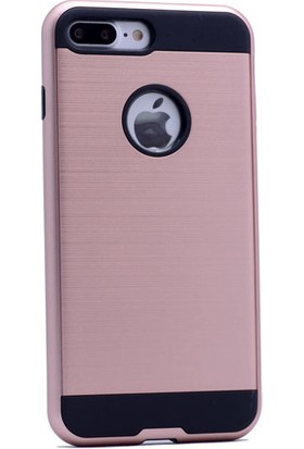 Kvy Apple iPhone 7 Kılıf Ultra Korumalı Silikon +Cam