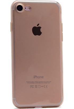 Kvy Apple iPhone 7 Plus Kılıf Kamera Korumalı Silikon +Cam