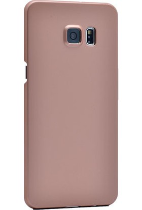 Kvy Samsung Galaxy S6 Kılıf Ultra İnce Rubber +Cam