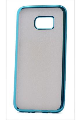Kvy Samsung Galaxy S7 Edge Kılıf Renkli Kenarlı Silikon