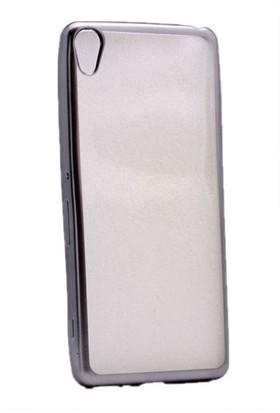 Kvy Sony Xperia X Kılıf Renkli Kenarlı Silikon