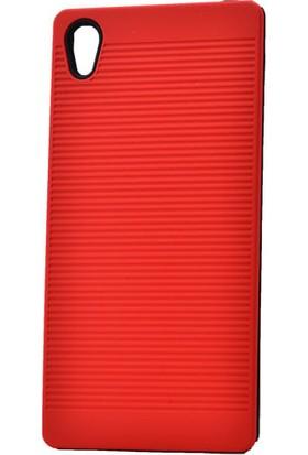 Kvy Sony Xperia Z5 Premium Kılıf Youyou Silikon +Cam