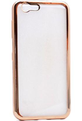 Kvy Turkcell T70 Kılıf Renkli Kenarlı Silikon +Cam