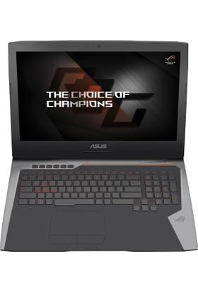 """Asus G752VS(KBL)-GB274T Intel Core i7 7820HK 32GB 1TB + 512GB SSD GTX1070 Windows 10 Home 17.3"""" UHD Taşınabilir Bilgisayar"""