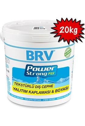 Brv Powerstrong Psx - Tekstürlü Su Geçirmez Dış Cephe Yalıtım Kaplaması Ve Boyası 20Kg
