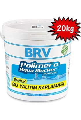Brv Polımero Aqua Blocker Pu Ms 1K - Esnek Su Yalıtım Kaplaması 20Kg