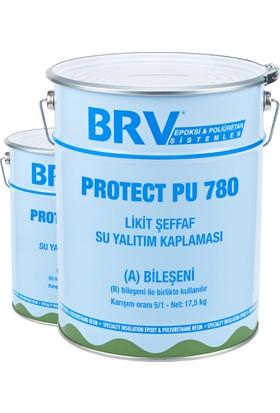 Brv Protect Pu 780 - 4 Kg Poliüretan Likid Şeffaf Su Yalıtım Kaplaması
