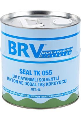Brv Seal Tk 055 - Uv Dayanımlı Solventli Beton Ve Doğal Taş Koruyucu 4Lt