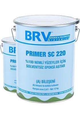 Brv Prımer Sc 220 - %100 Nemli Yüzeyler İçin Solventsiz Epoksi Astar 3,4Kg