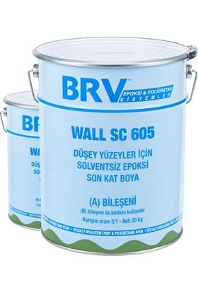 Brv Wall Sc 605 - Düşey Yüzeyler İçin Solventsiz Epoksi Son Kat Boya 6Kg