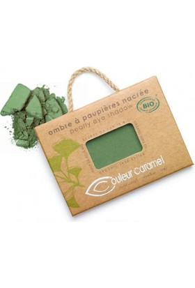 Couleur Caramel Pearly Eye Shadow - No.090 Fren Green 2.5 gr.