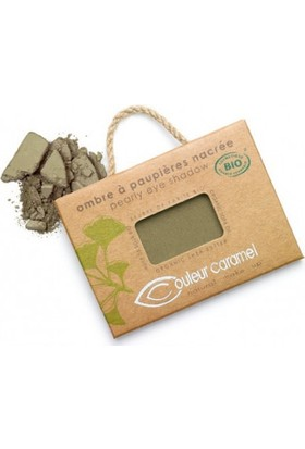 Couleur Caramel Pearly Eye Shadow - No.107 Banana Leaves 2.5 gr.