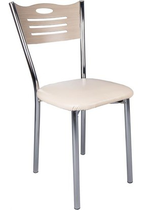 Evistro Ahşap Mutfak Ve Balkon Sandalyesi 4 Adet Kordoba