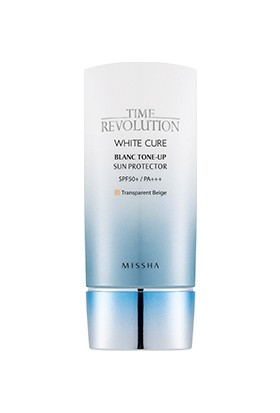 Missha Time Revolution White Cure Blanc Tone-up Sun Protector SPF 50 /PA+++