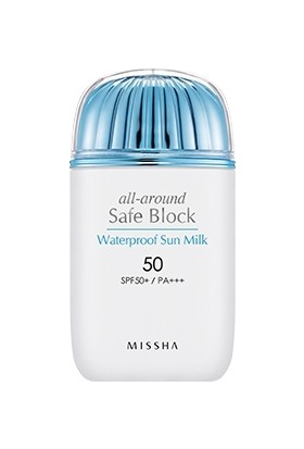 Missha All Around Safe Block Waterproof Sun Milk SPF50+/PA+++ (40ml)