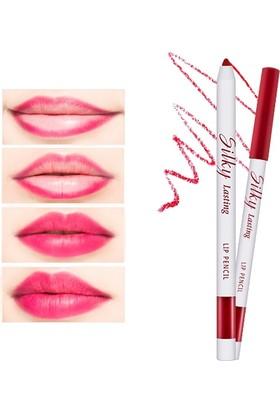 Missha Silky Lasting Lip Pencil (Ruby Cherry)