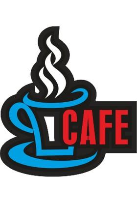 Ydr Led Işıklı Cafe Tabelası