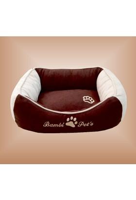 Bambi Pet's Alya Lüks Köpek Yatağı Küçük Boy (50 X 60 Cm)
