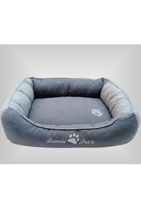 Bambi Pet's Alya Lüks Köpek Yatağı Orta Boy (70 X 80 Cm)